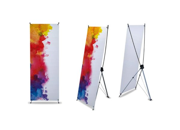 impression x banner stand